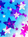 Colorful stars background Stock Images