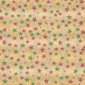 Colorful stars on grungy distressed background Royalty Free Stock Photo