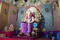 Colorful statue of Ganesh Stock Photo