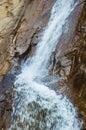 Close Up Beautiful Seven Falls Waterfall in Colorado Springs, Colorado, USA Royalty Free Stock Photo