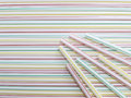 Colorful straw background sweet for Stock Photos