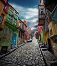 Colorful Streets Royalty Free Stock Photo