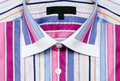 Colorful striped shirt male or female Stock Photo