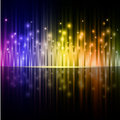 Colorful stripes background. Royalty Free Stock Photography