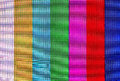 Colorful stripes on lcd screen background Royalty Free Stock Photos