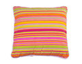 Colorful stripes pillow Royalty Free Stock Photo