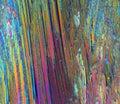 Colorful sugar crystals Royalty Free Stock Photo