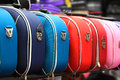 Colorful suitcases Stock Images