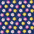 Colorful summer floral hibiscus background pink navy