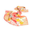 Colorful summer scarf isolated on white Royalty Free Stock Photography