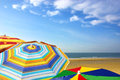 Colorful Sunshades Royalty Free Stock Images