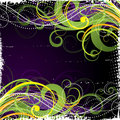 Colorful swirl background Stock Photography