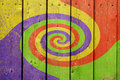 Colorful Swirl Background Royalty Free Stock Image