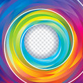 Colorful Swirl Background Royalty Free Stock Photo