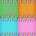 Colorful sword card board texture for note or congratulate Royalty Free Stock Images