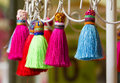 Colorful Tassel Royalty Free Stock Photo