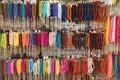 Colorful tehbih, hanging love grows Royalty Free Stock Photo