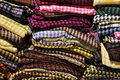 Colorful textiles Royalty Free Stock Photography