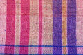 Colorful thai loincloth fabric background Stock Photography