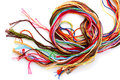 Colorful Thread Floss Royalty Free Stock Photo