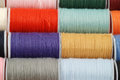 Colorful threads Stock Photography