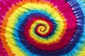Colorful Tie Dye Spiral Pattern Design Royalty Free Stock Photo