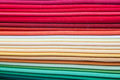 Colorful tissues texture Stock Image