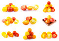 Colorful tomatoes Stock Photography