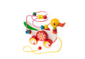Colorful toy duck Royalty Free Stock Photo
