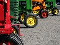 Colorful Tractors Royalty Free Stock Photos