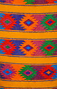 Colorful traditional Mayan weaving, Guatemala Royalty Free Stock Photo