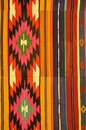 Colorful Turkish carpet Royalty Free Stock Photo