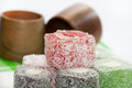 Colorful Turkish Delight And W...