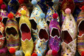 Colorful Turkish Slippers Stock Image