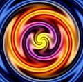 Colorful Twirl Stock Image
