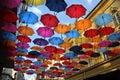 Colorful Umbrellas In Belgrade