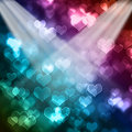 Colorful valentines background Royalty Free Stock Photography