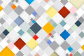 Colorful Vector Abstract Square Retro Background Royalty Free Stock Photo