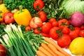 Farbistý zelenina a