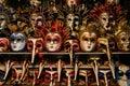 Colorful Venetian Masks Royalty Free Stock Photo