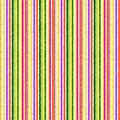 Colorful vertical stripes hand-drawn seamless pattern