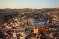 Colorful view of the city of guanajuato mexico Stock Photography