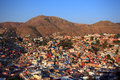 Colorful view of the city of guanajuato mexico Stock Photo