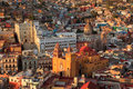Colorful view of the city of guanajuato mexico Royalty Free Stock Image