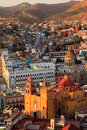 Colorful view of the city of guanajuato mexico Stock Image