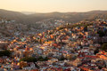 Colorful view of the city of guanajuato mexico Royalty Free Stock Photos