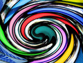 Colorful vortex Royalty Free Stock Photo