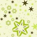 Colorful warping paper light green Retro
