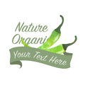 Colorful watercolor texture vector nature organic vegetable