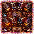 Colorful Weave Tapestry With F...